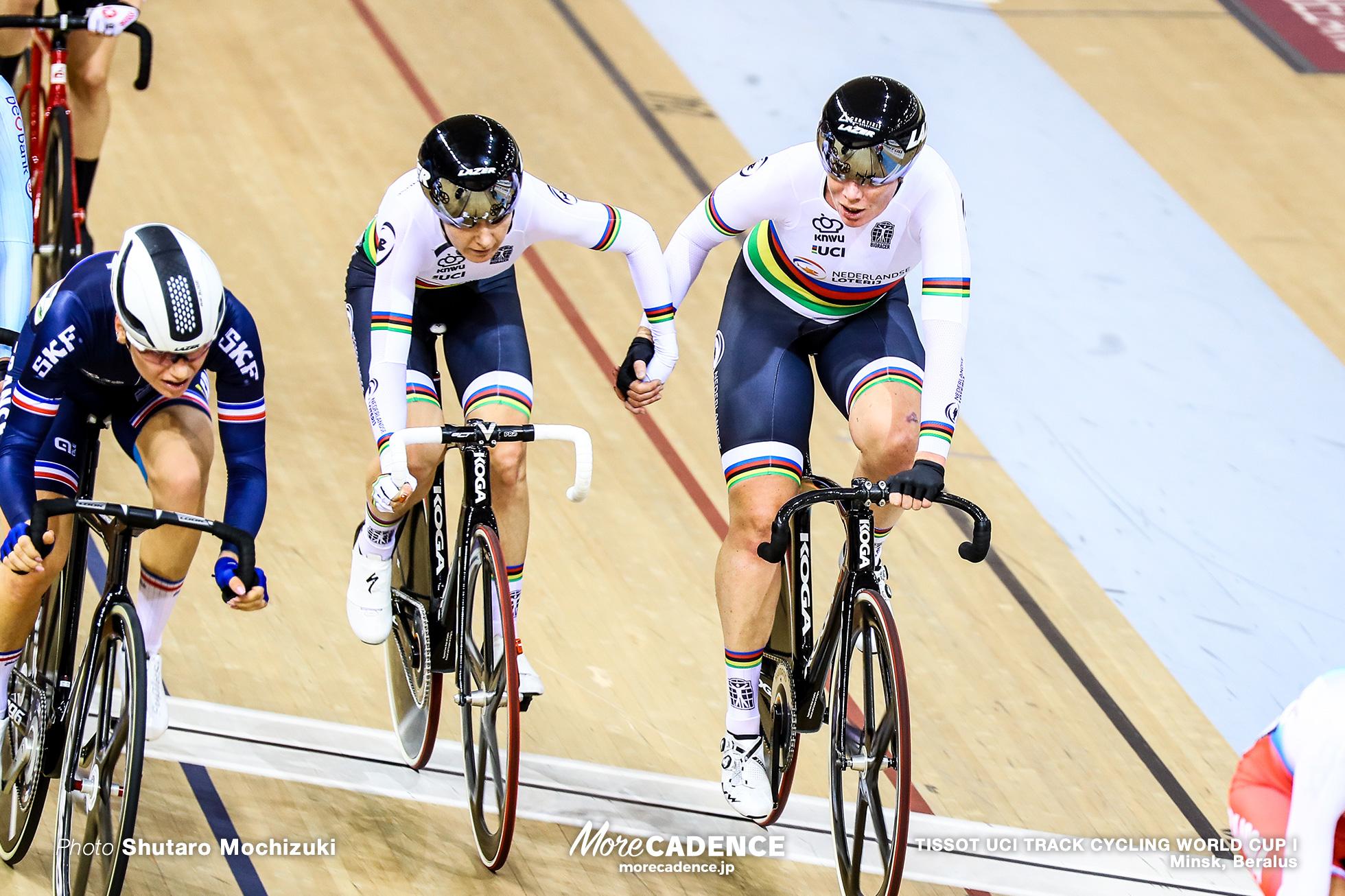 キルステン・ウィルト WILD Kirsten アミー・ピータース PIETERS Amy Women's Madison / TISSOT UCI TRACK CYCLING WORLD CUP I, Minsk, Beralus