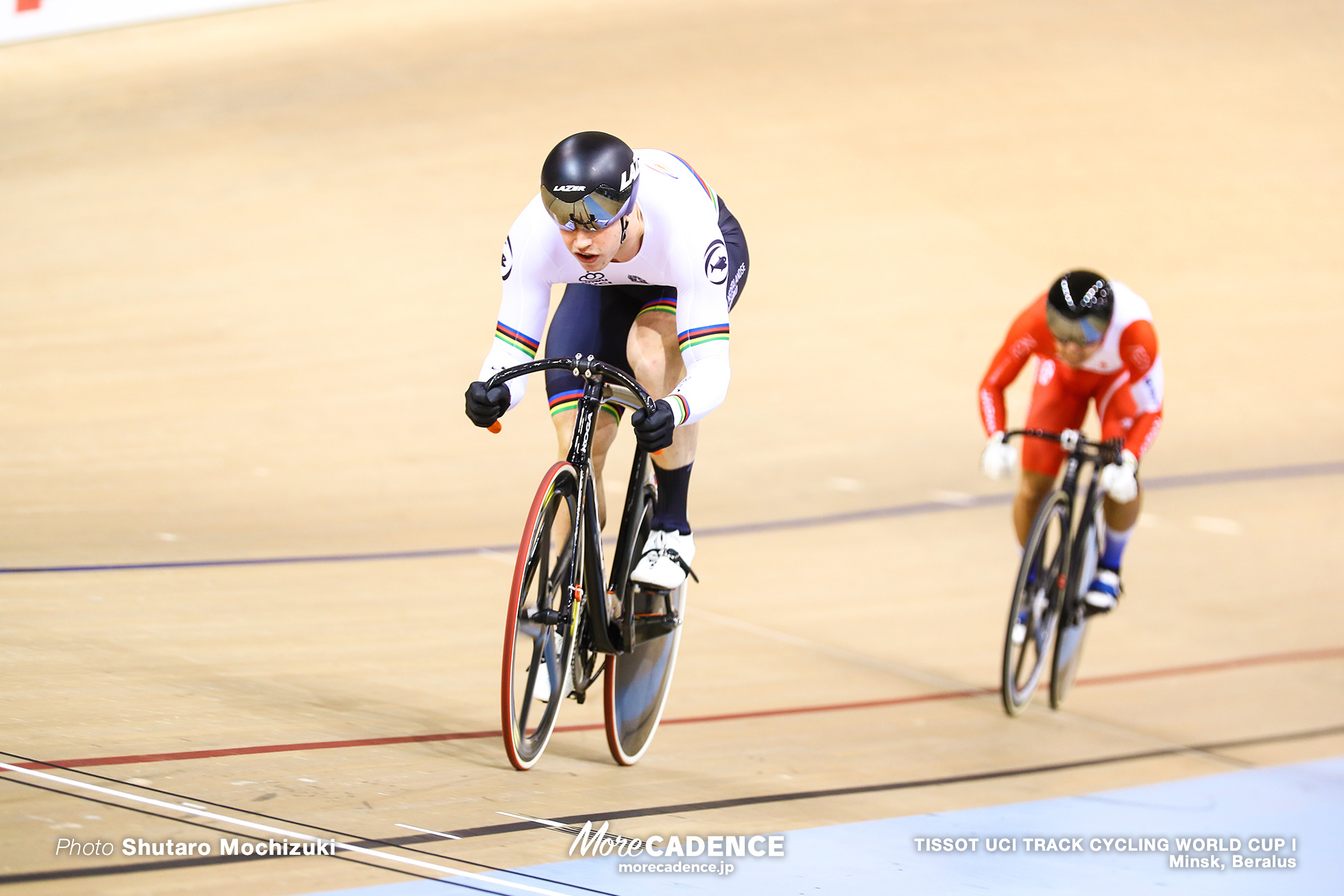 2nd Round / Men's Sprint / TISSOT UCI TRACK CYCLING WORLD CUP I, Minsk, Beralus