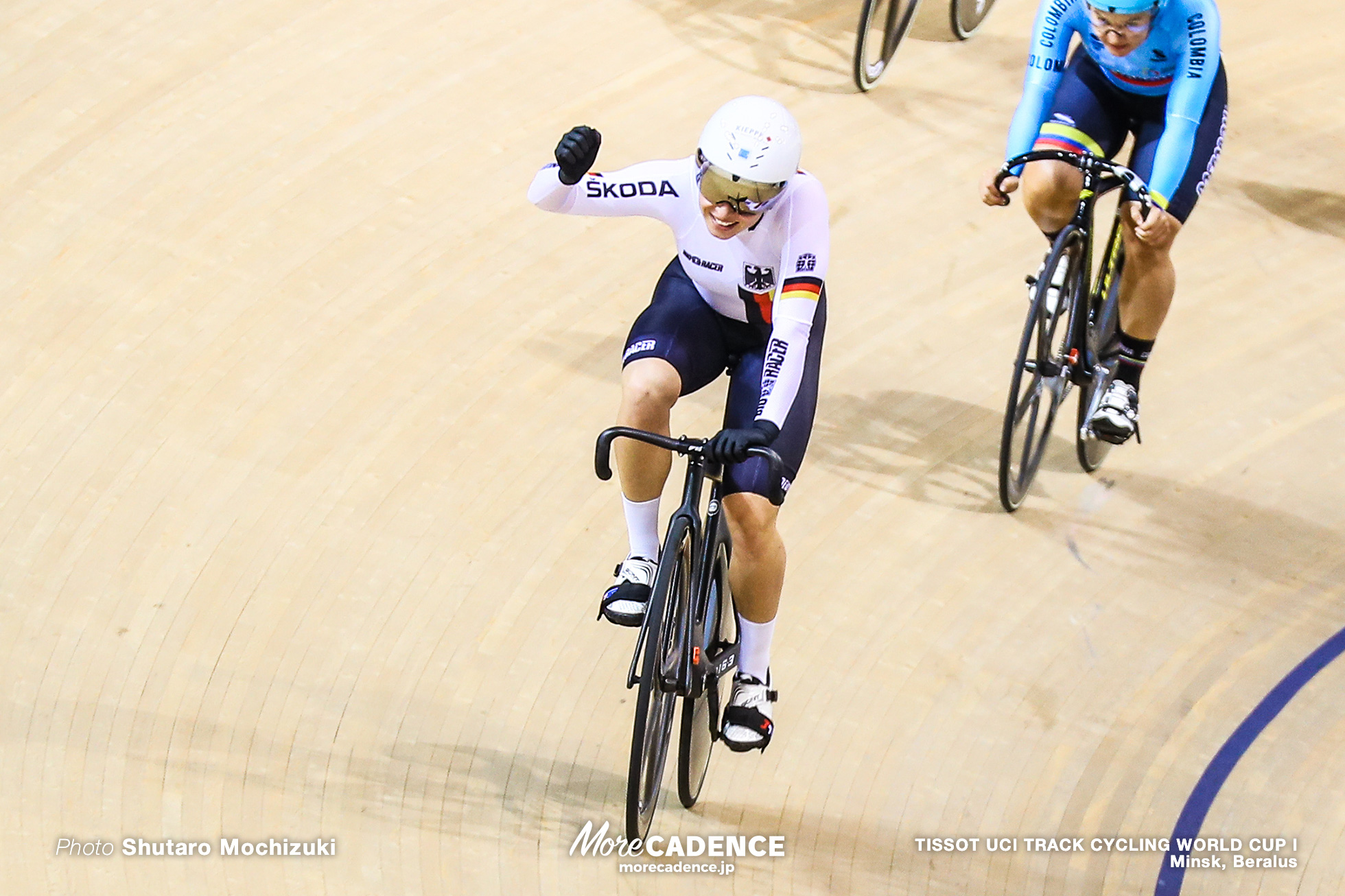 Final / Women's Keirin / TISSOT UCI TRACK CYCLING WORLD CUP I, Minsk, Beralus