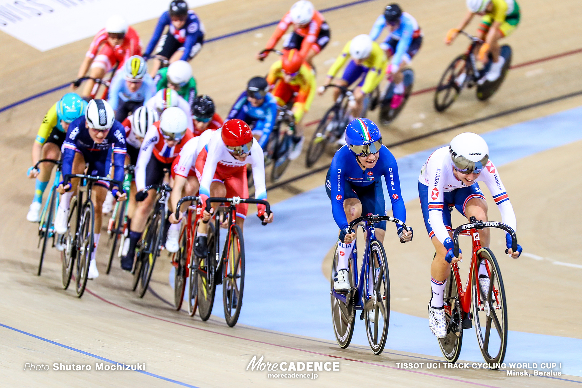 Women's Omnium / Men's Individual Pursuit / TISSOT UCI TRACK CYCLING WORLD CUP I, Minsk, Beralus