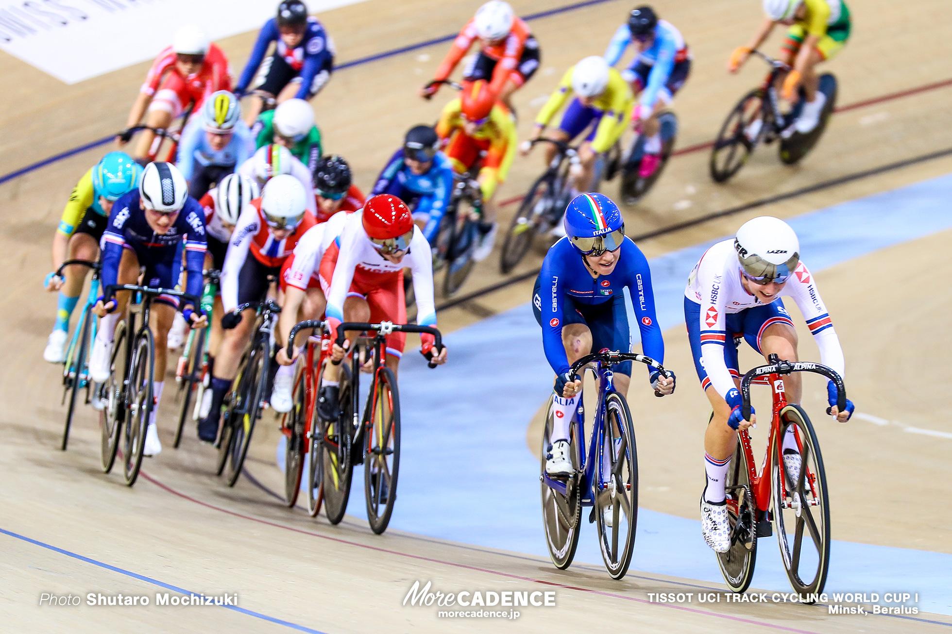 Women's Omnium / Men's Individual Pursuit / TISSOT UCI TRACK CYCLING WORLD CUP I, Minsk, Beralus