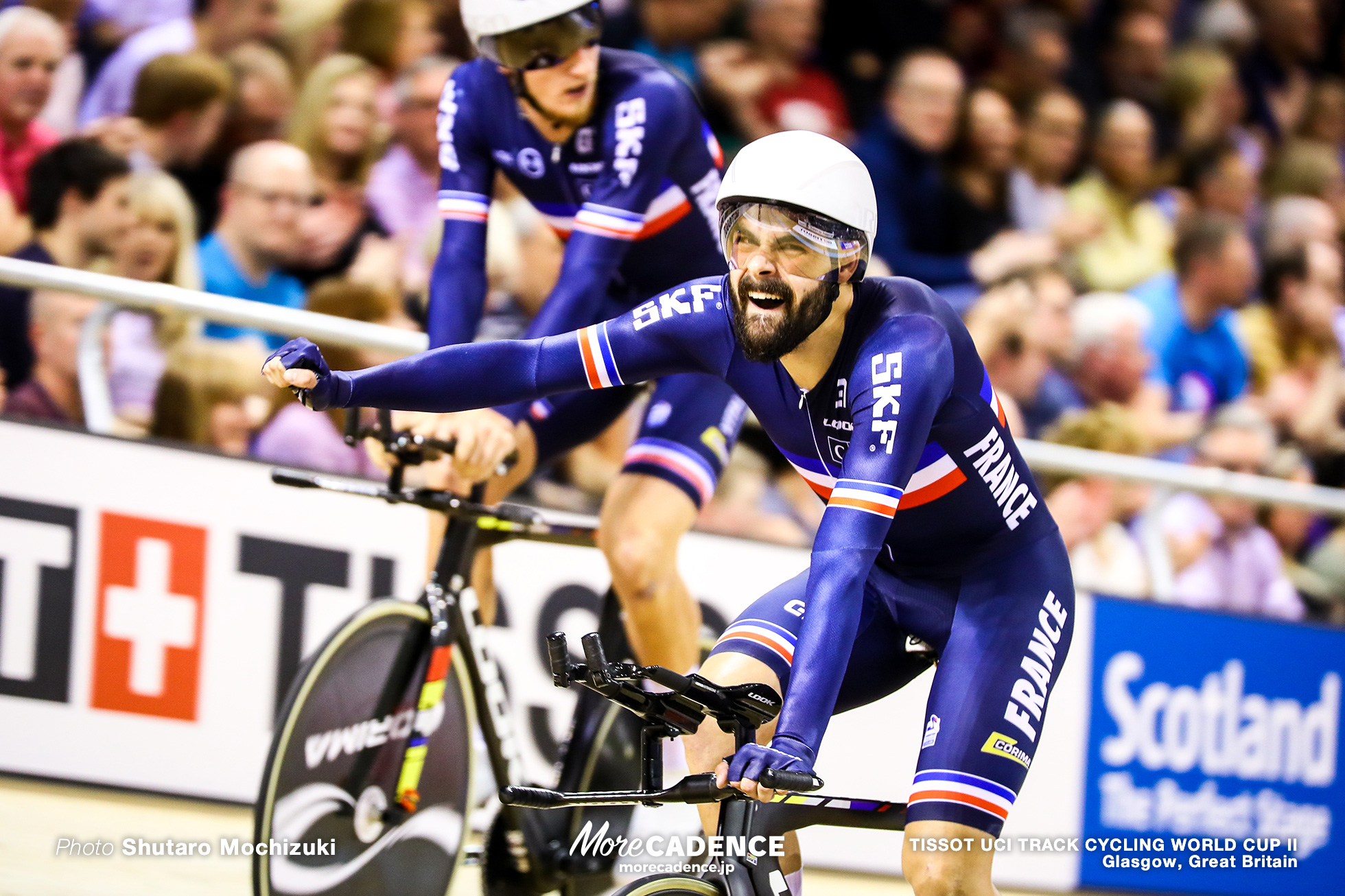 France / Men's Team Pursuit / TISSOT UCI TRACK CYCLING WORLD CUP II, Glasgow, Great Britain