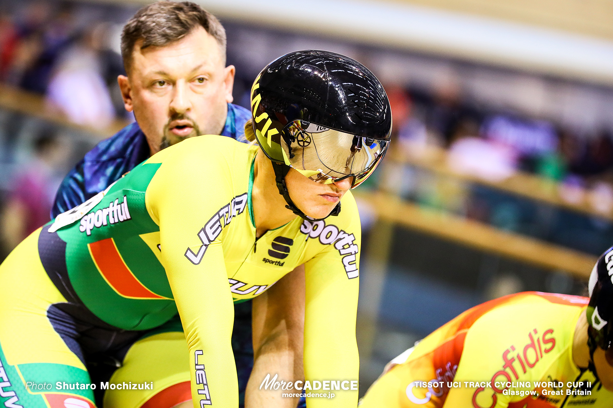 1st Round / Women's Keirin / TISSOT UCI TRACK CYCLING WORLD CUP II, Glasgow, Great Britain, Simona KRUPECKAITE シモーナ・クルペツカイテ