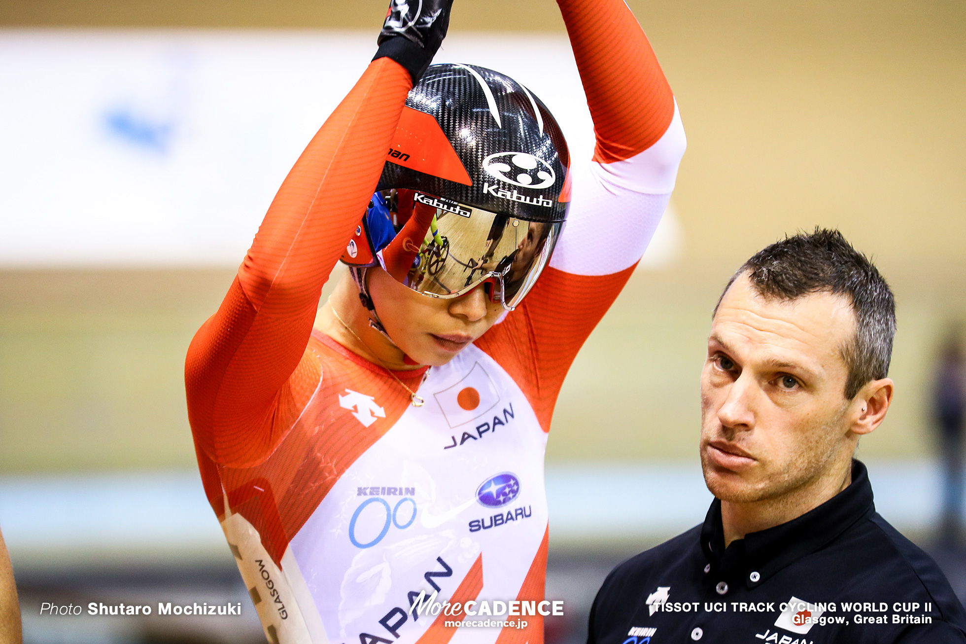 1st Round / Women's Keirin / TISSOT UCI TRACK CYCLING WORLD CUP II, Glasgow, Great Britain, 太田りゆ