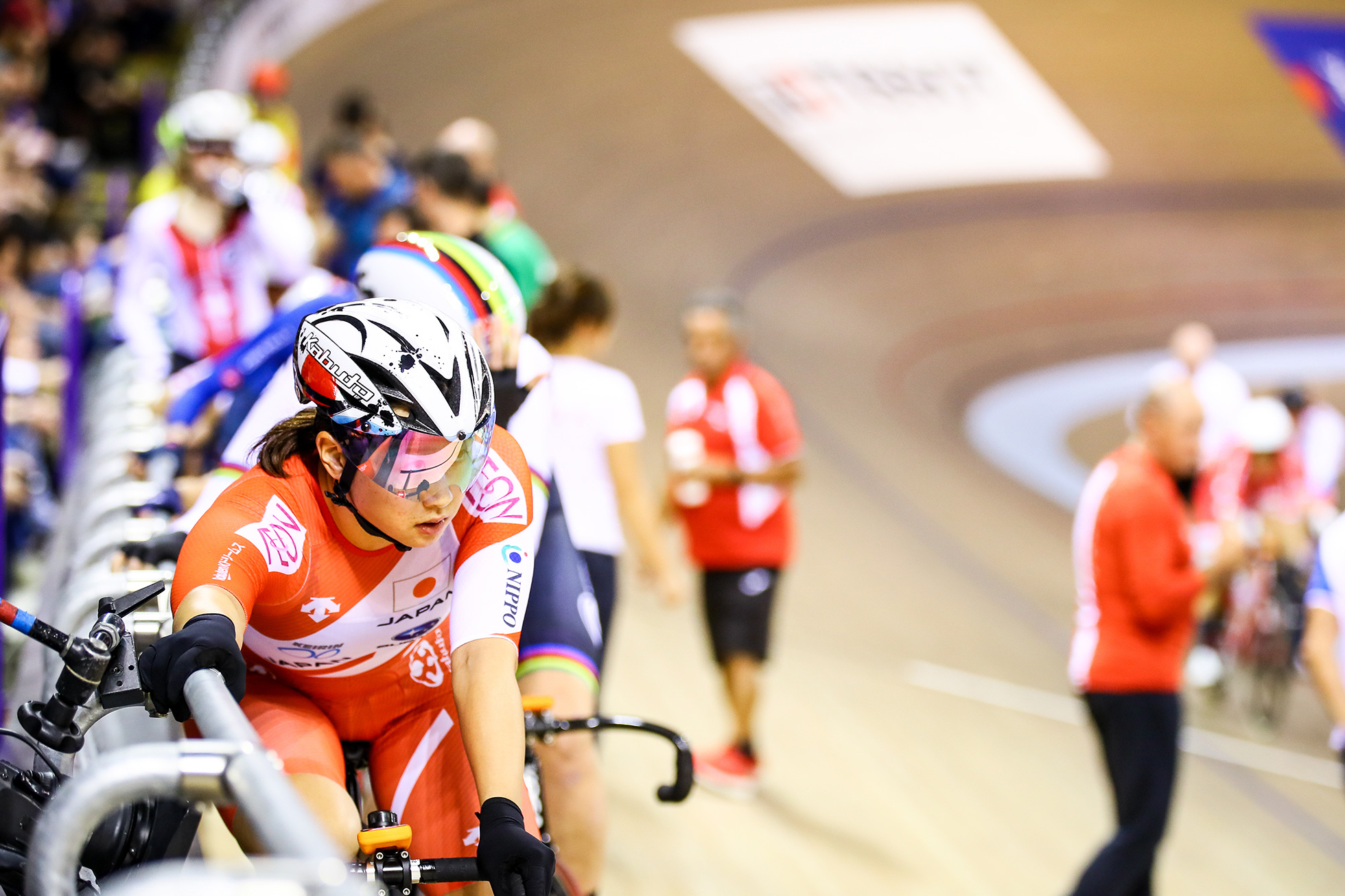 Elimination / Women's Omnium / TISSOT UCI TRACK CYCLING WORLD CUP II, Glasgow, Great Britain, 梶原悠未