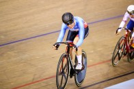Point Race / Women's Omnium / TISSOT UCI TRACK CYCLING WORLD CUP II, Glasgow, Great Britain, Lotte KOPECKY ロッタ・コペッキー