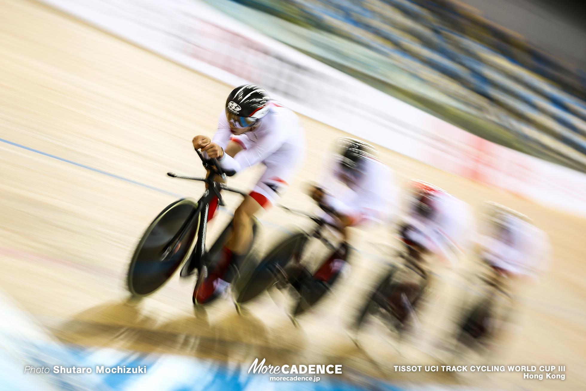 Men's Team Pursuit / TISSOT UCI TRACK CYCLING WORLD CUP III, Hong Kong, 沢田桂太郎 窪木一茂 今村駿介 近谷涼