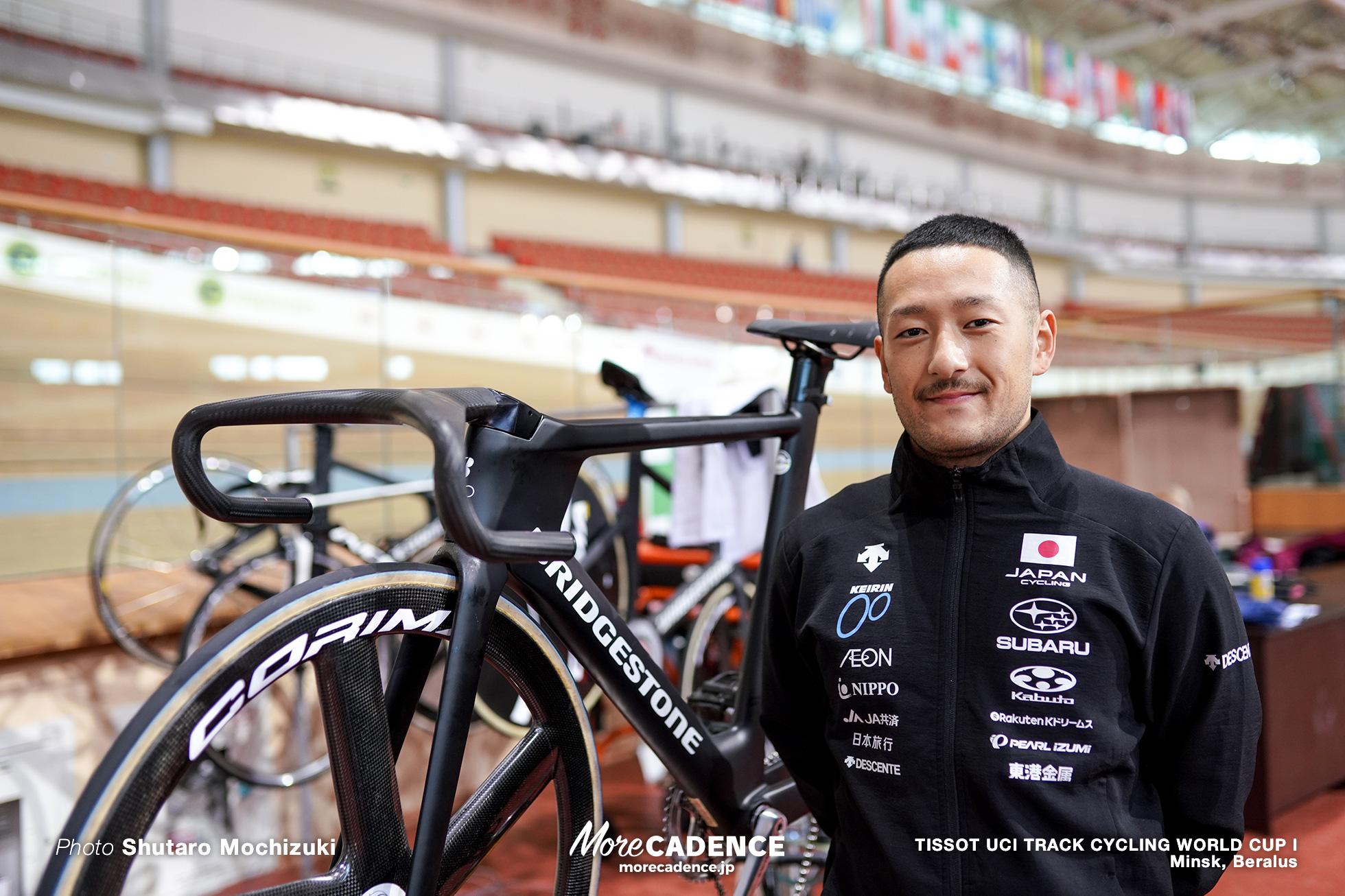 松井宏佑, TISSOT UCI TRACK CYCLING WORLD CUP I, Minsk, Beralus