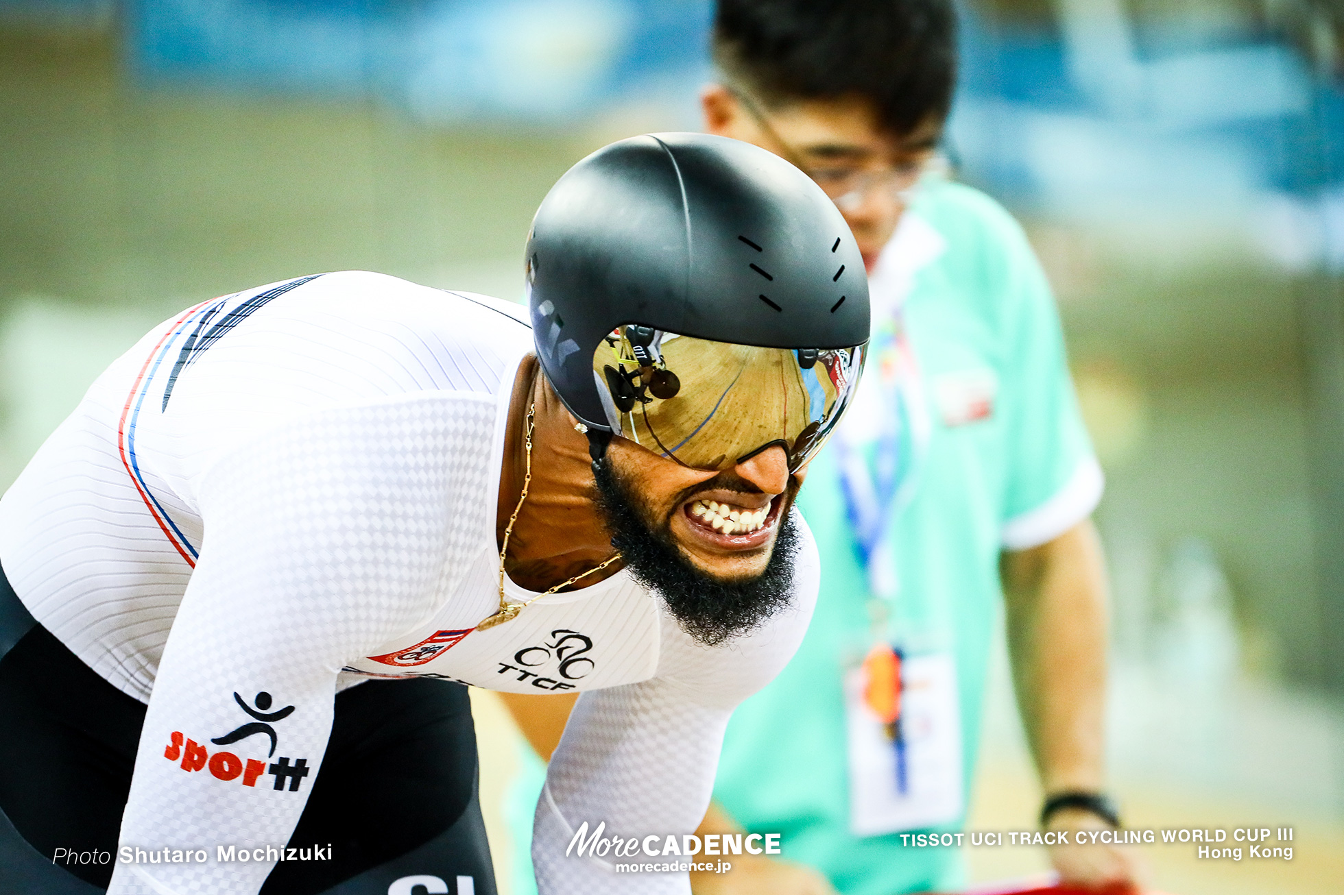 Qualifying / Men's Team Sprint / TISSOT UCI TRACK CYCLING WORLD CUP III, Hong Kong, Njisane PHILLIP ヌジサネ・フィリップ
