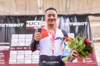 松井宏佑 Final / Men's Keirin / TISSOT UCI TRACK CYCLING WORLD CUP I, Minsk, Beralus