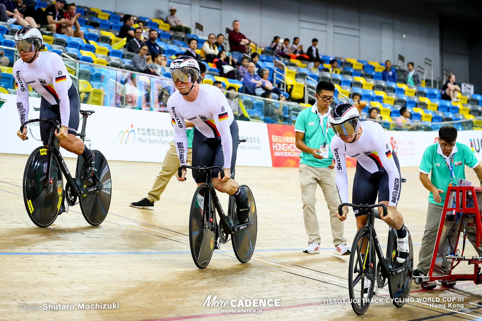 Final / Men's Team Sprint / TISSOT UCI TRACK CYCLING WORLD CUP III, Hong Kong