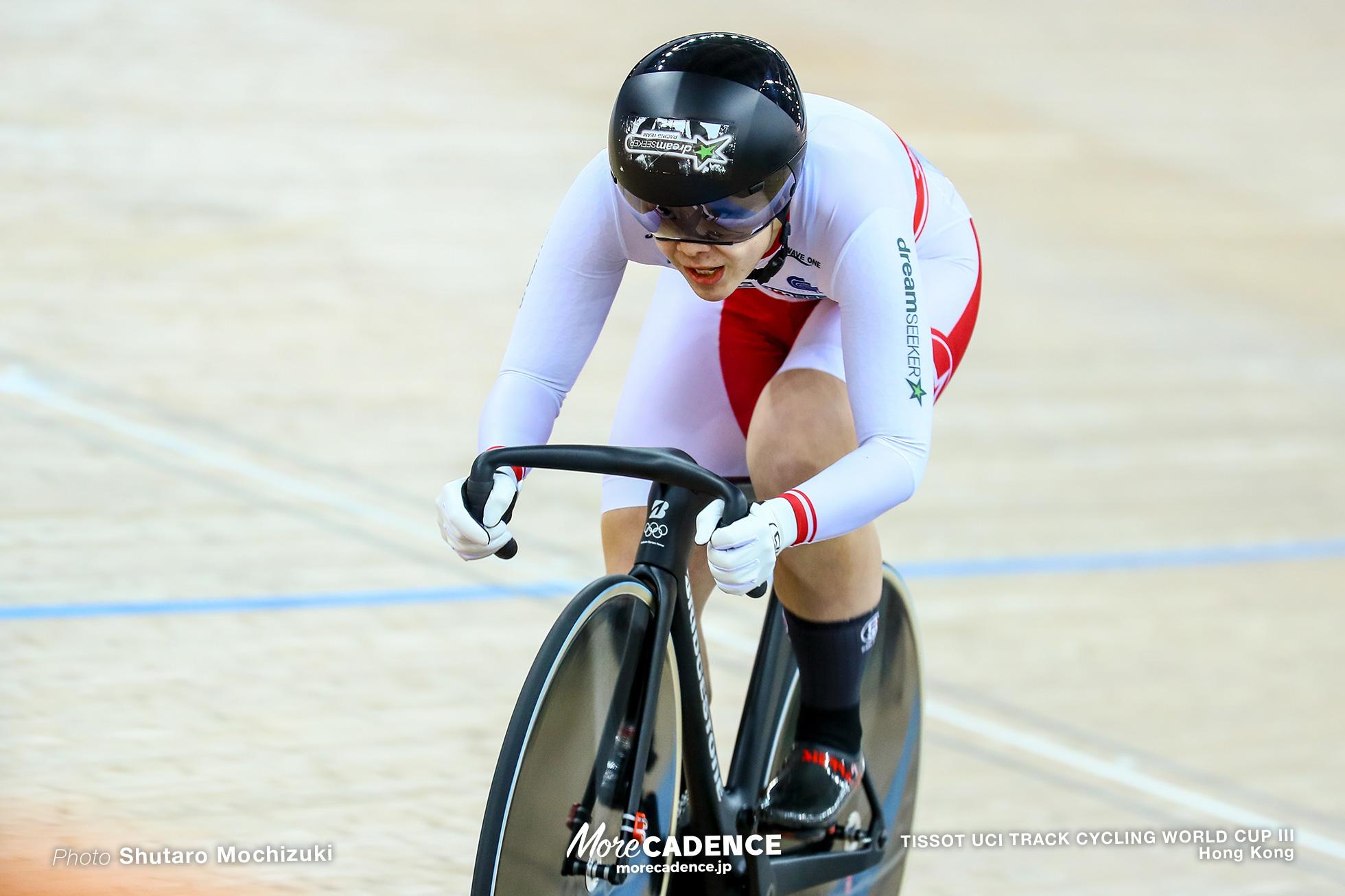 Qualifying / Women's Sprint / TISSOT UCI TRACK CYCLING WORLD CUP III, Hong Kong