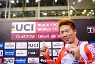 深谷知広, Final / Men's Sprint / TISSOT UCI TRACK CYCLING WORLD CUP II, Glasgow, Great Britain