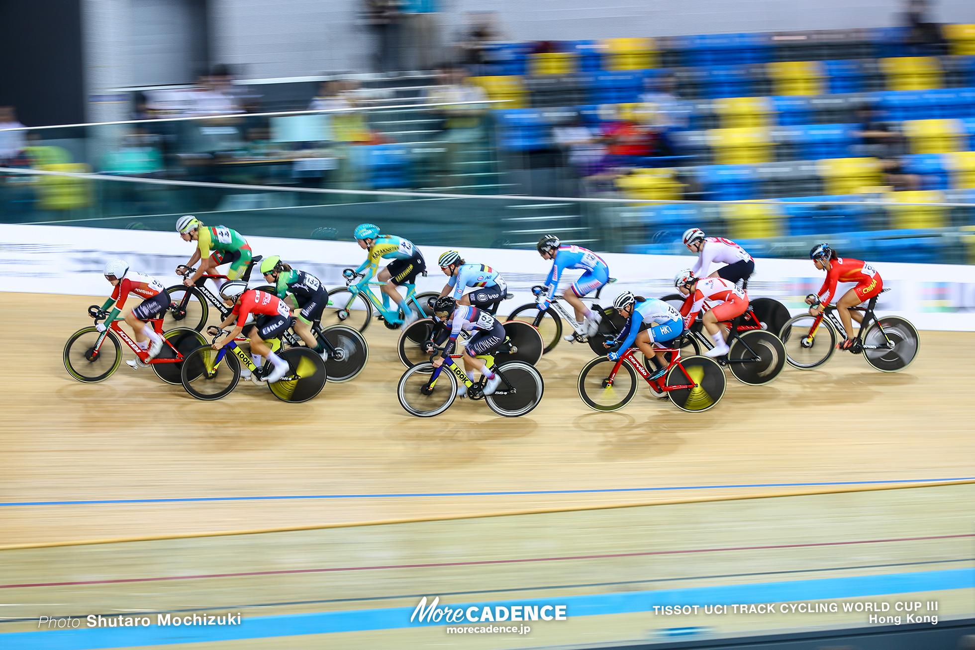 Qualifying / Women's Scratch Race / TISSOT UCI TRACK CYCLING WORLD CUP III, Hong Kong