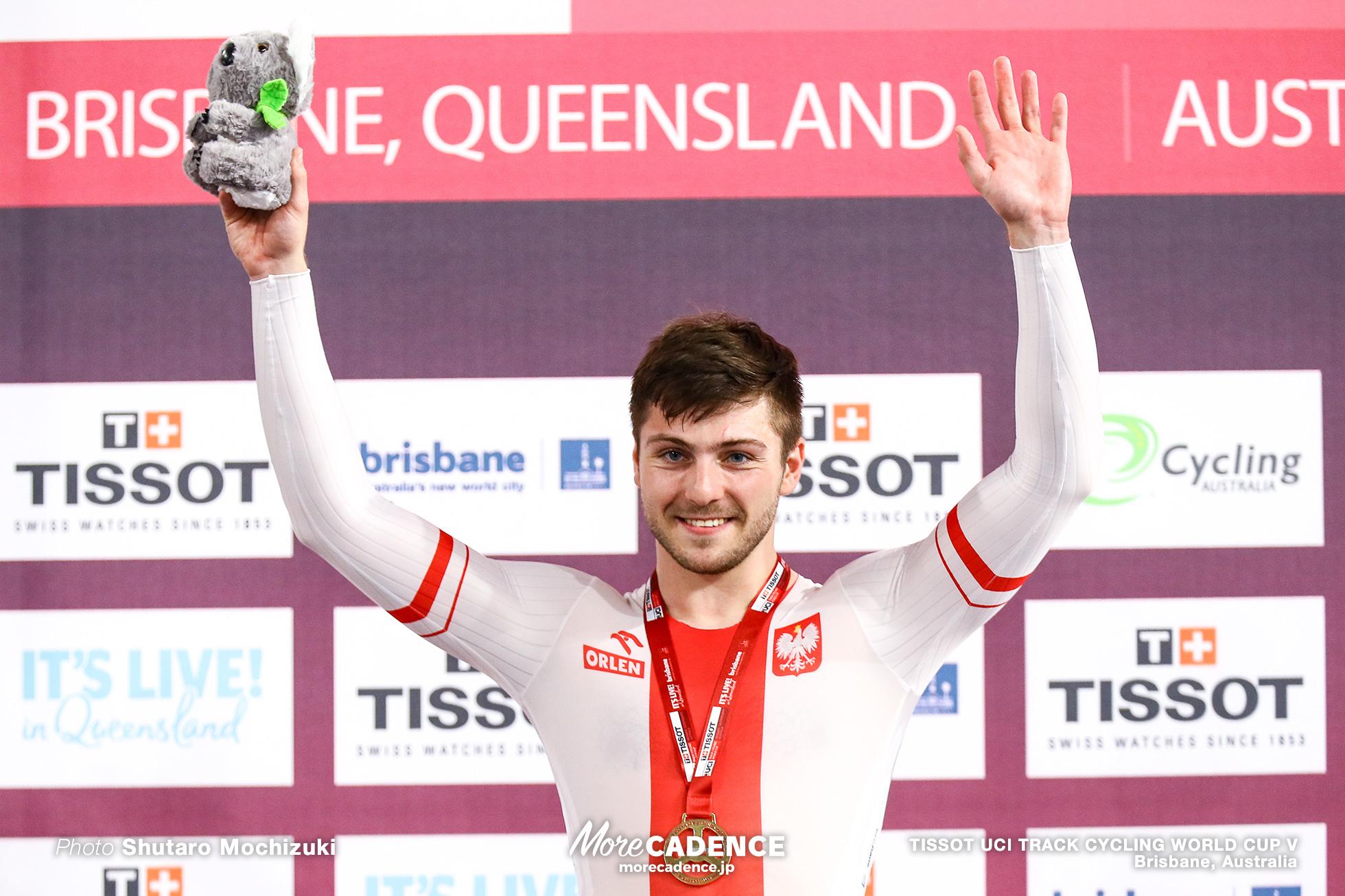 Final / Men's Sprint / TISSOT UCI TRACK CYCLING WORLD CUP V, Brisbane, Australia, Mateusz RUDYK マテウス・ルディク