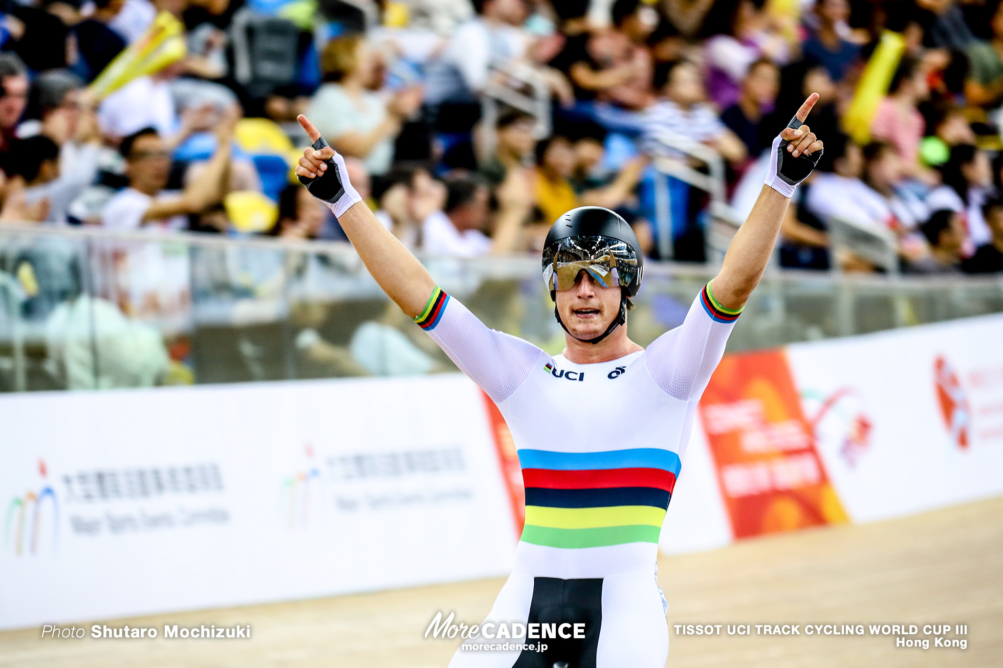 Campbell Stewart / Point Race / Men's Omnium / TISSOT UCI TRACK CYCLING WORLD CUP III, Hong Kong