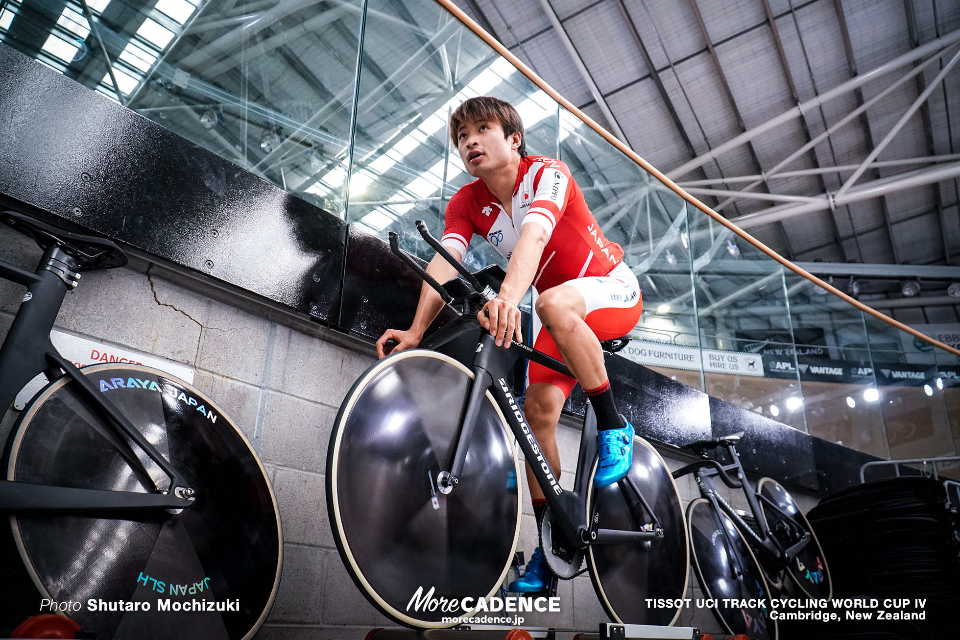 TISSOT UCI TRACK CYCLING WORLD CUP IV, Cambridge, New Zealand, 橋本英也