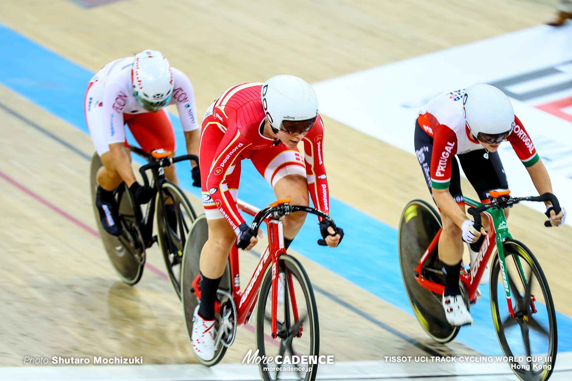 Elimination / Women's Omnium / TISSOT UCI TRACK CYCLING WORLD CUP III, Hong Kong, Julie LETH ジュリー・レス