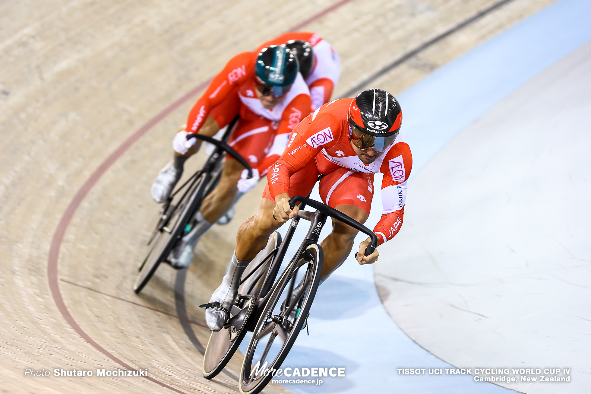 Men's Team Sprint / TISSOT UCI TRACK CYCLING WORLD CUP IV, Cambridge, New Zealand