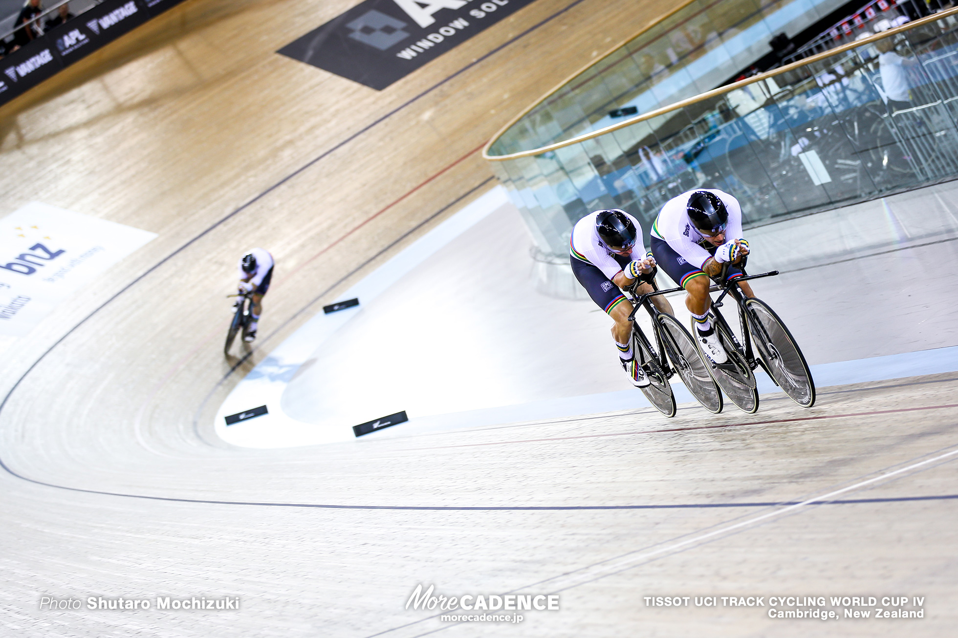 Final / Men's Team Pursuit / TISSOT UCI TRACK CYCLING WORLD CUP IV, Cambridge, New Zealand