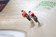 1/16 Finals / Women's Sprint / TISSOT UCI TRACK CYCLING WORLD CUP IV, Cambridge, New Zealand, 太田りゆ 小林優香