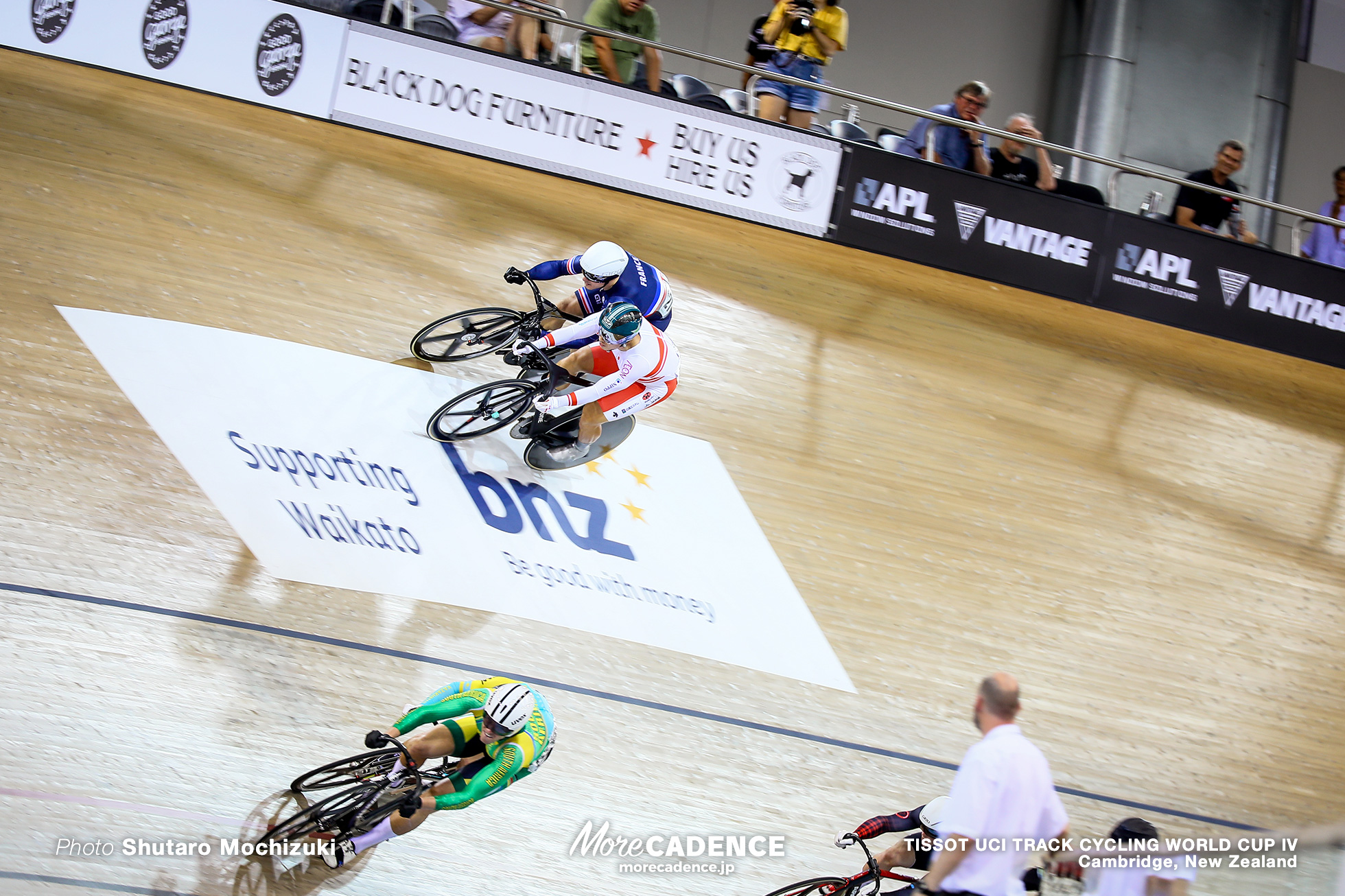1st Round Repechage / Men's Keirin / TISSOT UCI TRACK CYCLING WORLD CUP IV, Cambridge, New Zealand