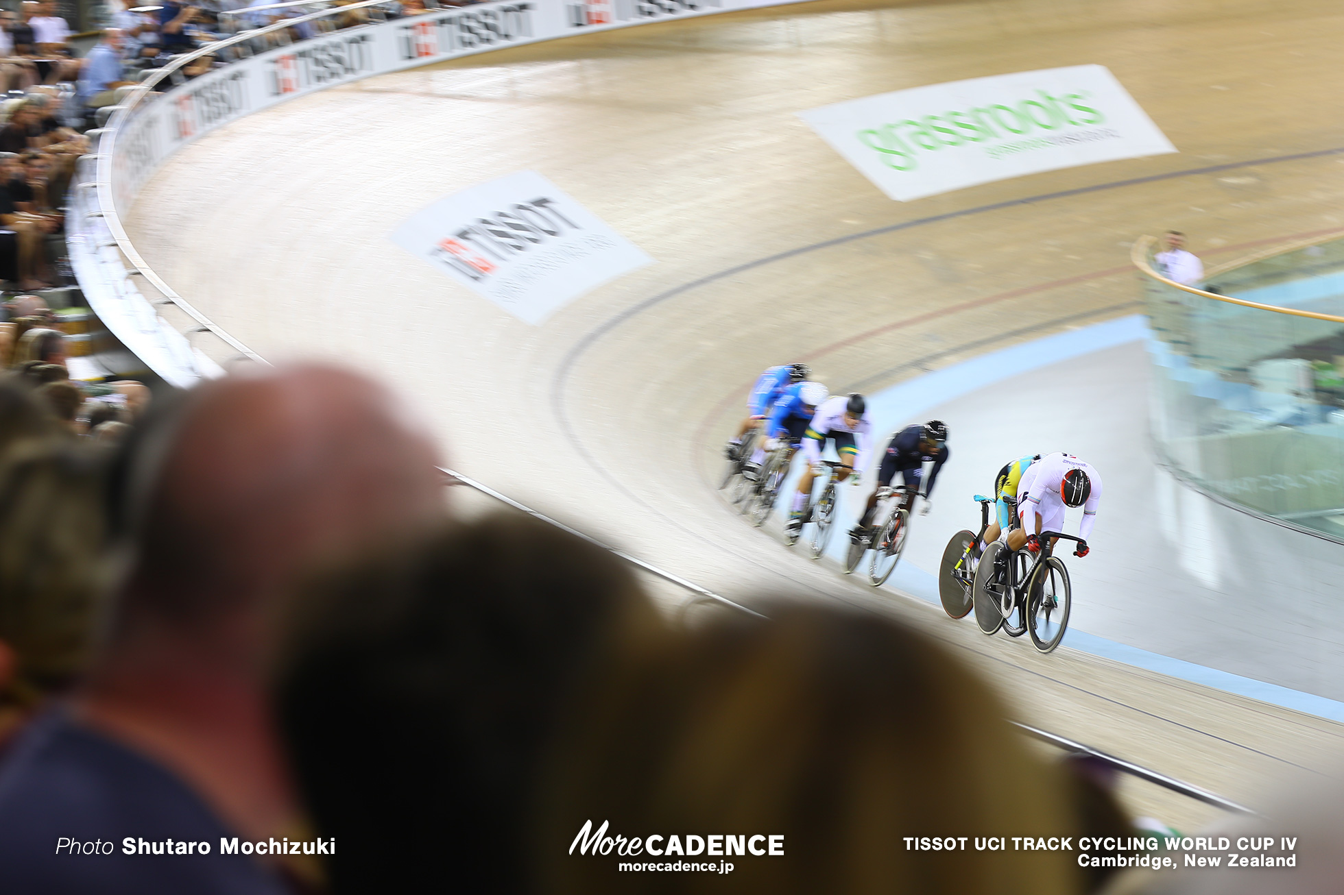 2nd Round / Men's Keirin / TISSOT UCI TRACK CYCLING WORLD CUP IV, Cambridge, New Zealand