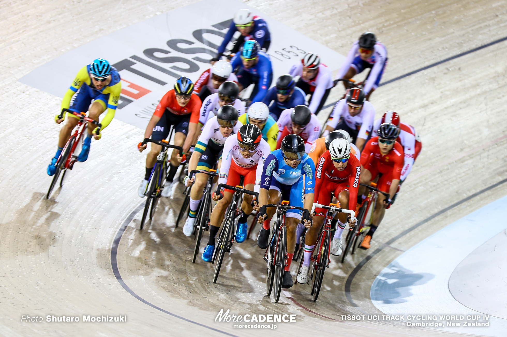 Elimination / Men's Omnium / TISSOT UCI TRACK CYCLING WORLD CUP IV, Cambridge, New Zealand