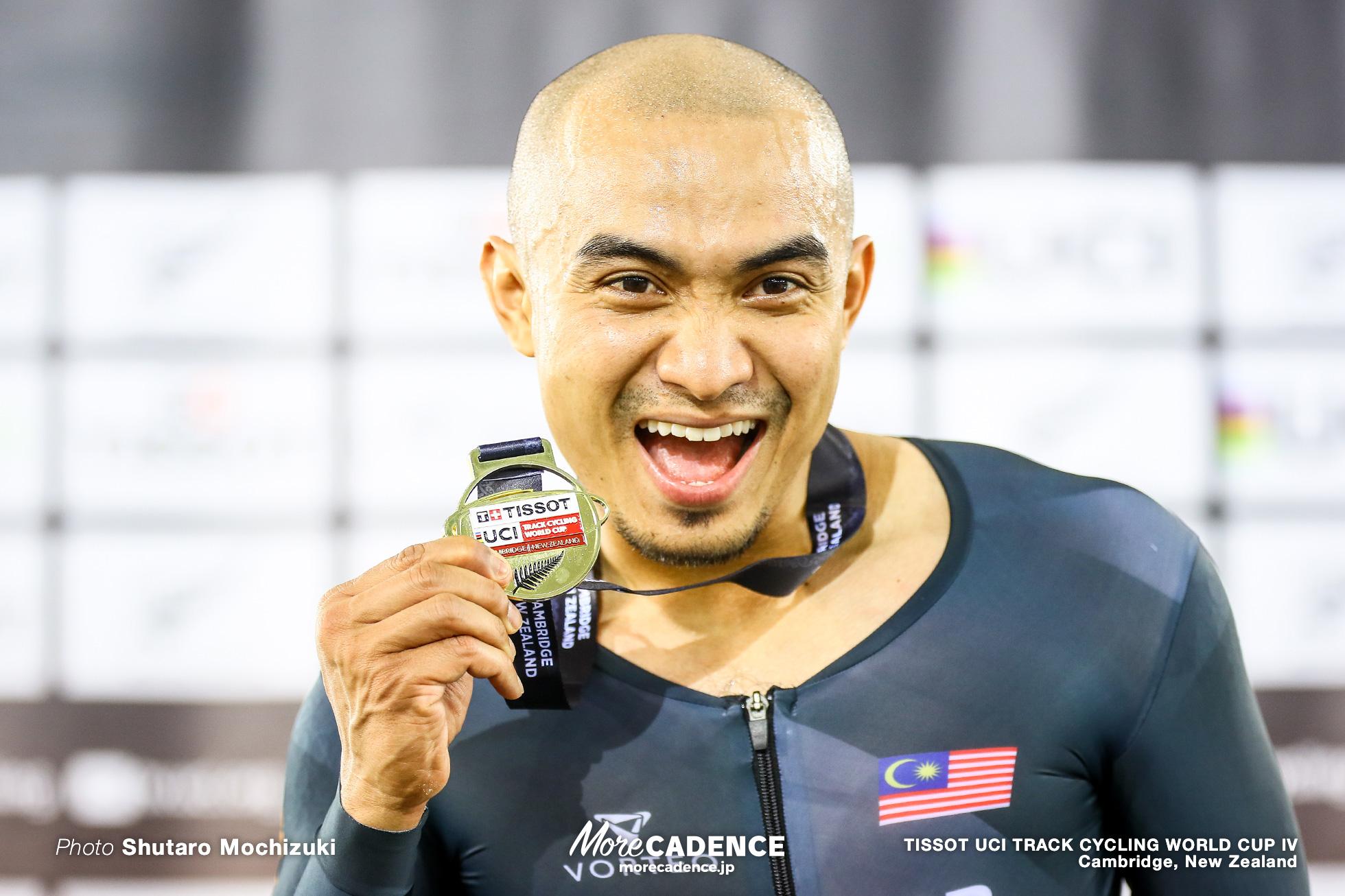 Final / Men's Keirin / TISSOT UCI TRACK CYCLING WORLD CUP IV, Cambridge, New Zealand, Mohd Azizulhasni AWANG アジズルハスニ・アワン