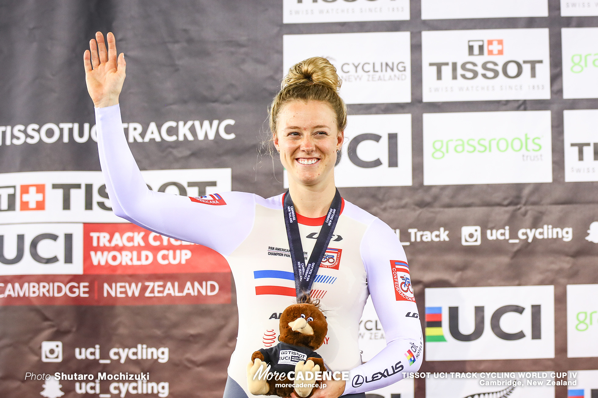 Final / Women's Sprint / TISSOT UCI TRACK CYCLING WORLD CUP IV, Cambridge, New Zealand, Kelsey MITCHELL ケルシー・ミシェル