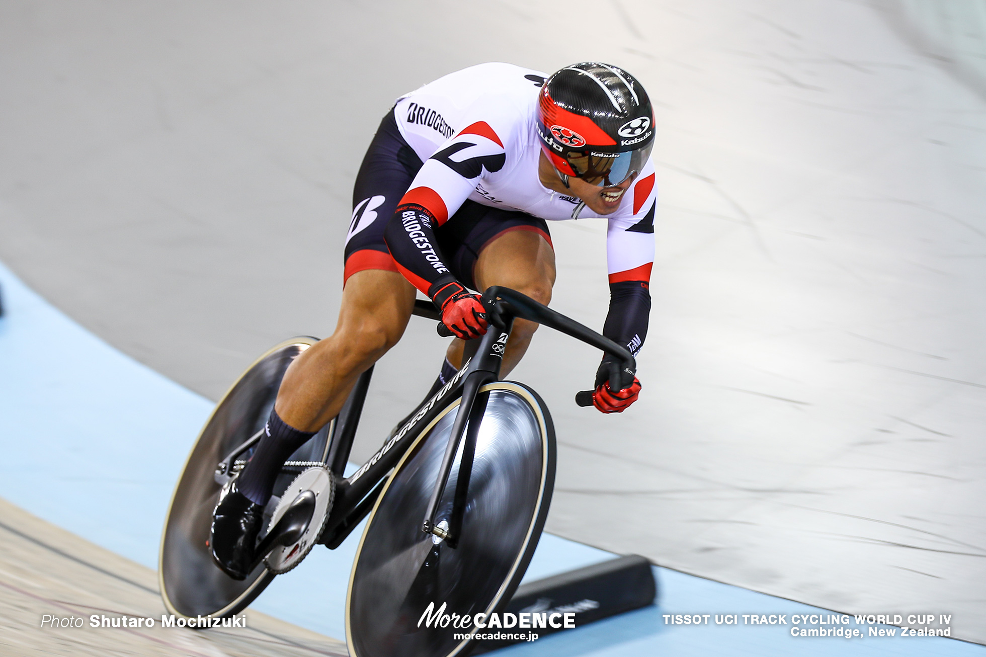 Qualifying / Men's Sprint / TISSOT UCI TRACK CYCLING WORLD CUP IV, Cambridge, New Zealand