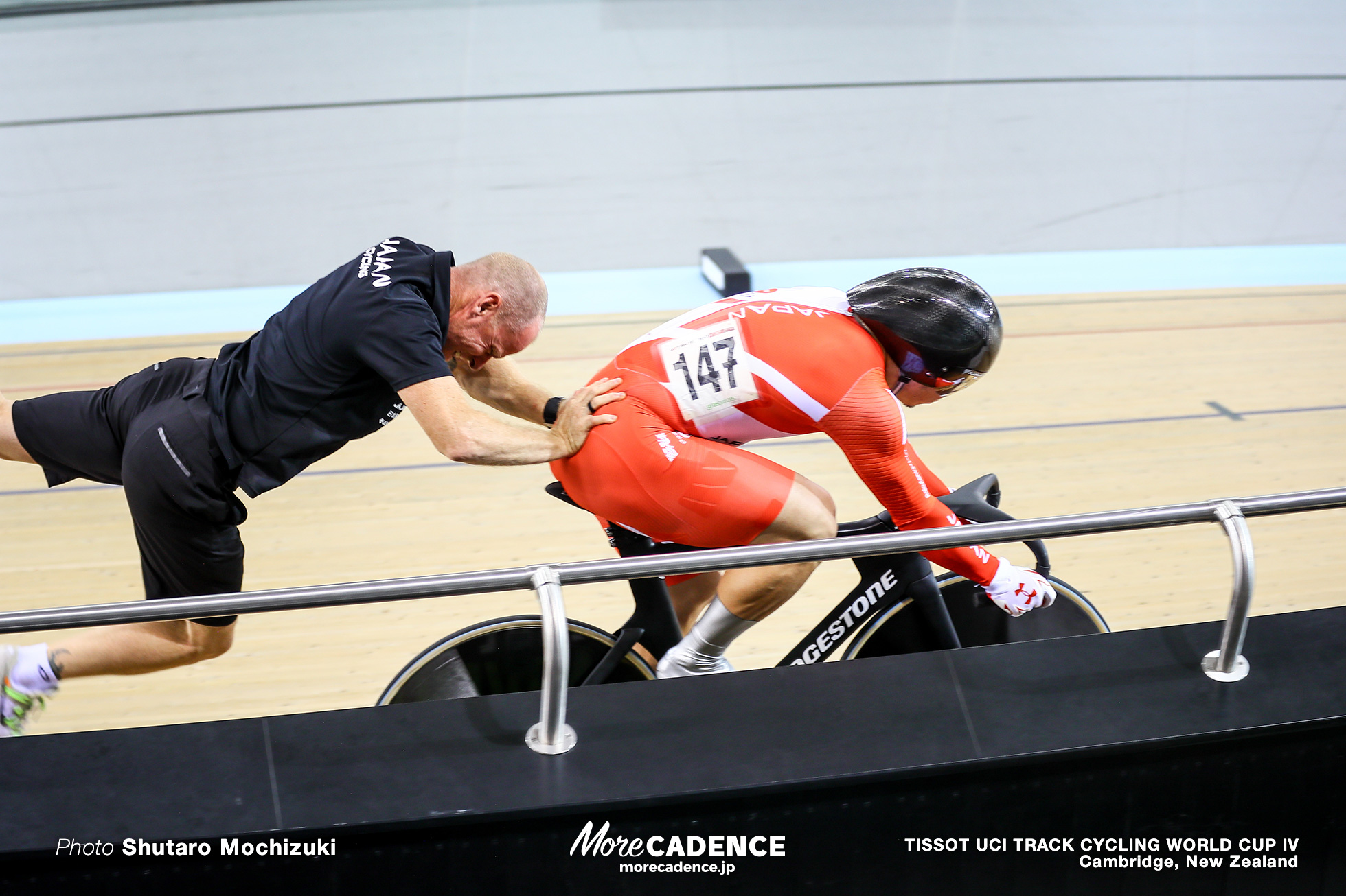 Qualifying / Men's Sprint / TISSOT UCI TRACK CYCLING WORLD CUP IV, Cambridge, New Zealand, 深谷知広