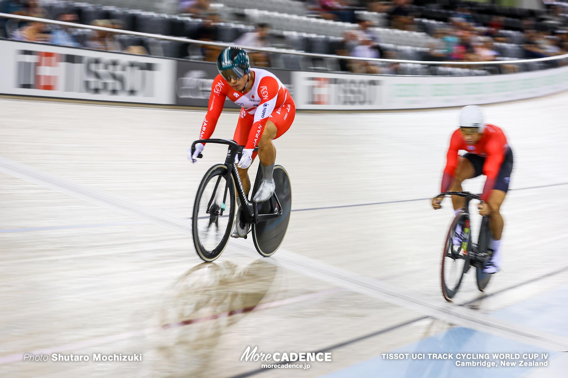 1/4決勝 / Men's Sprint / TISSOT UCI TRACK CYCLING WORLD CUP IV, Cambridge, New Zealand