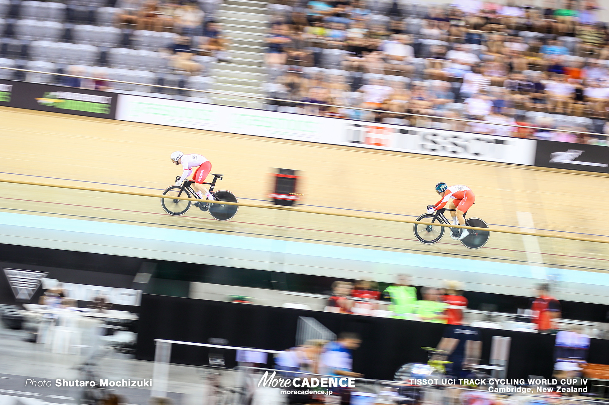Semi Finals / Men's Sprint / TISSOT UCI TRACK CYCLING WORLD CUP IV, Cambridge, New Zealand