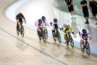 2nd Round / Women's Keirin / TISSOT UCI TRACK CYCLING WORLD CUP IV, Cambridge, New Zealand