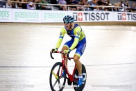 Men's Scratch Race / TISSOT UCI TRACK CYCLING WORLD CUP IV, Cambridge, New Zealand