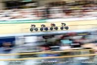Final / Women's Team Pursuit / TISSOT UCI TRACK CYCLING WORLD CUP V, Brisbane, Australia, Rushlee BUCHANAN ラシュリー・ブキャナン Holly EDMONDSTON ホーリー・エドモンドストン Bryony BOTHA ブライオニー・ボサ Racquel SHEATH ラクエル・シース