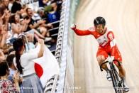 Final / Men's Team Sprint / TISSOT UCI TRACK CYCLING WORLD CUP V, Brisbane, Australia, 深谷知広