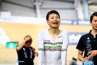 Men's Omnium / Point Race / TISSOT UCI TRACK CYCLING WORLD CUP V, Brisbane, Australia, 橋本英也