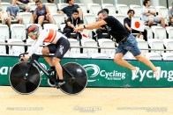 Qualifying / Men's Sprint / TISSOT UCI TRACK CYCLING WORLD CUP V, Brisbane, Australia, 河端朋之
