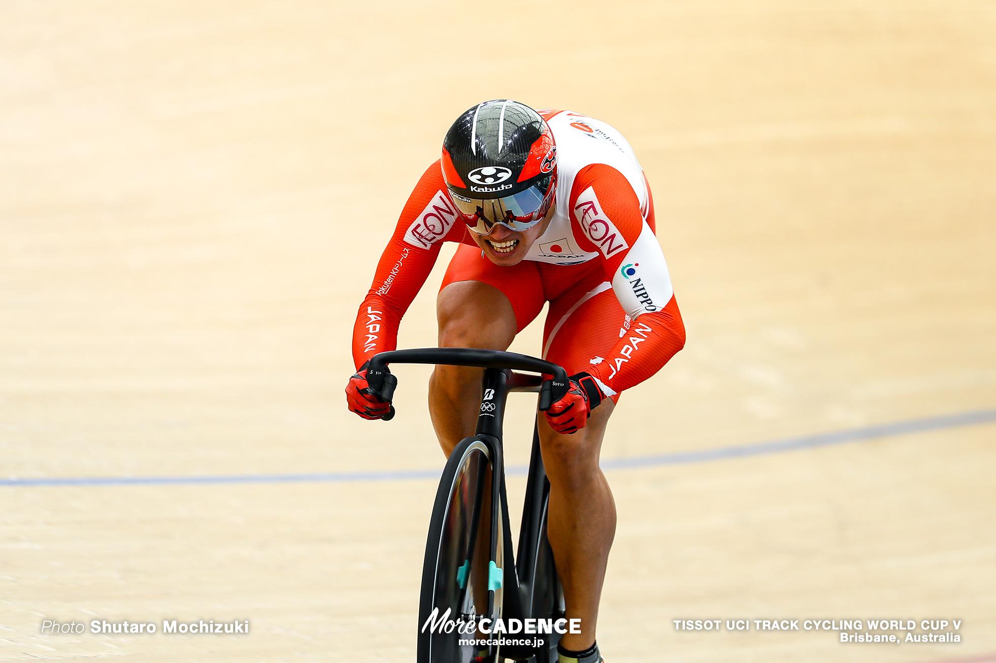Qualifying / Men's Sprint / TISSOT UCI TRACK CYCLING WORLD CUP V, Brisbane, Australia, 脇本雄太