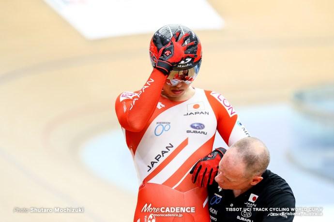2nd Round / Men's Sprint / TISSOT UCI TRACK CYCLING WORLD CUP V, Brisbane, Australia, 脇本雄太