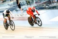 2nd Round / Men's Sprint / TISSOT UCI TRACK CYCLING WORLD CUP V, Brisbane, Australia, 脇本雄太 Nathan HART ネイサン・ハート