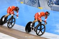 Men's Sprint / TISSOT UCI TRACK CYCLING WORLD CUP VI, Milton, Canada, 雨谷一樹, 小原佑太