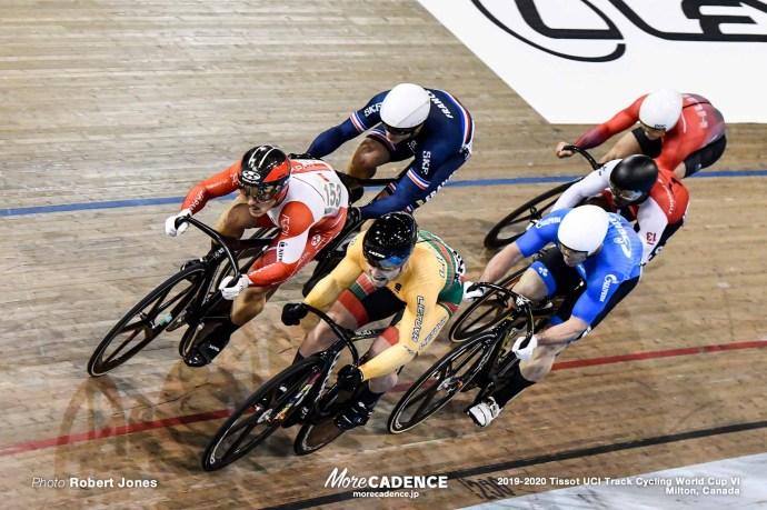 Men's Keirin / TISSOT UCI TRACK CYCLING WORLD CUP VI, Milton, Canada, 松井宏佑
