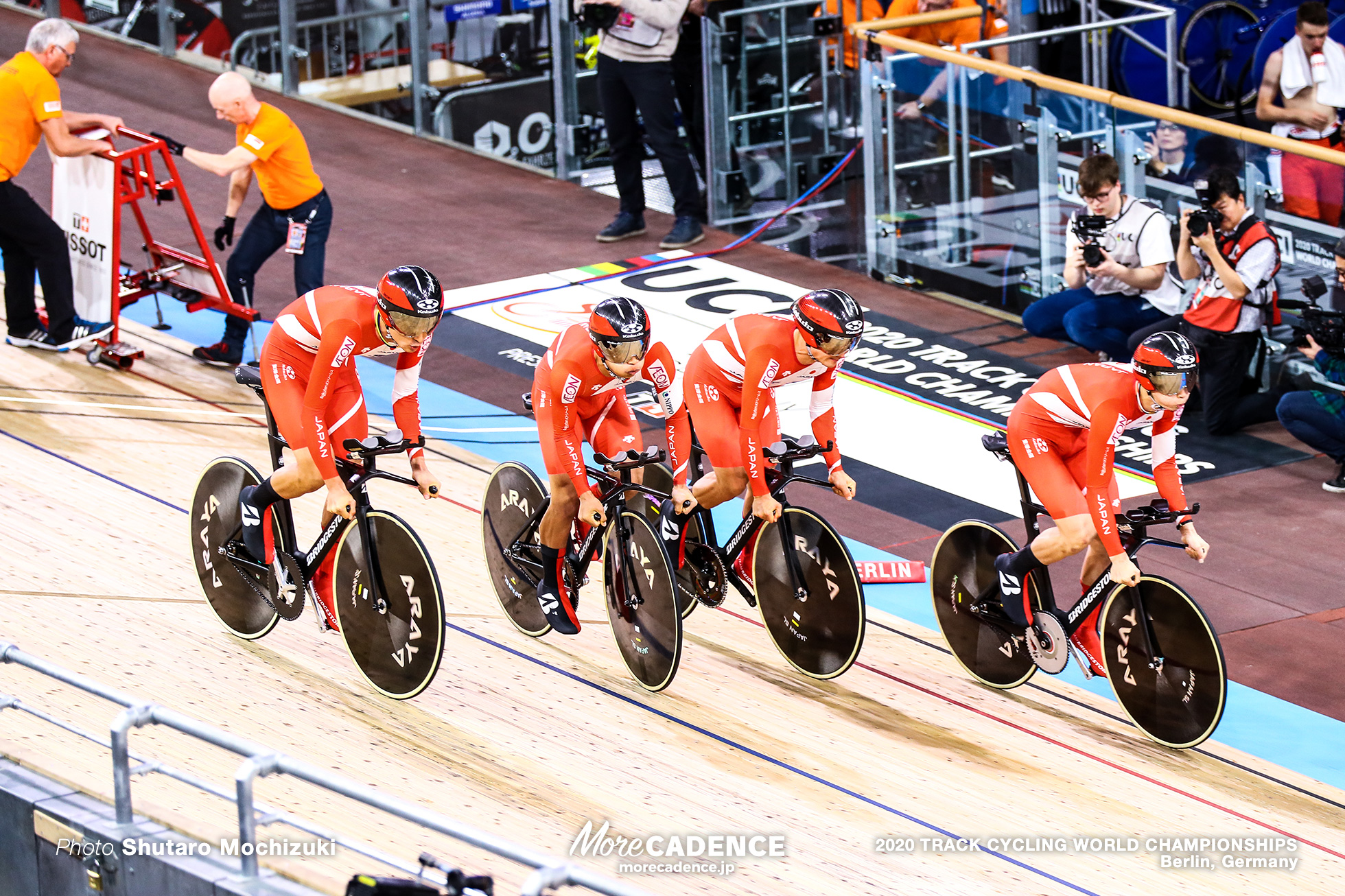 Qualifying / Men's Team Pursuit / 2020 Track Cycling World Championships
