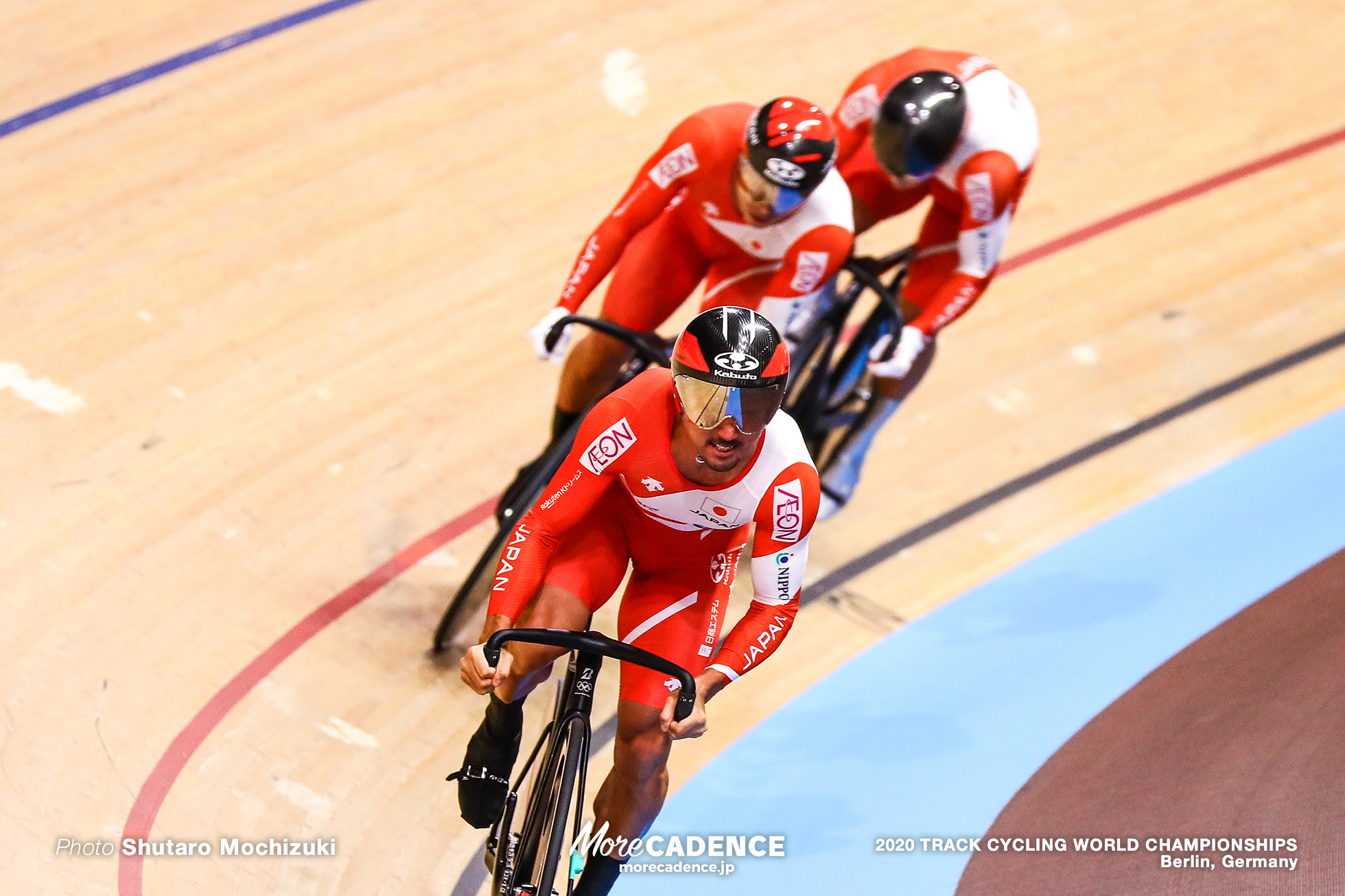 Qualifying / Men's Team Sprint / 2020 Track Cycling World Championships, 雨谷一樹 Amagai Kazuki, 新田祐大 Nitta Yudai, 深谷知広 Fukaya Tomohiro