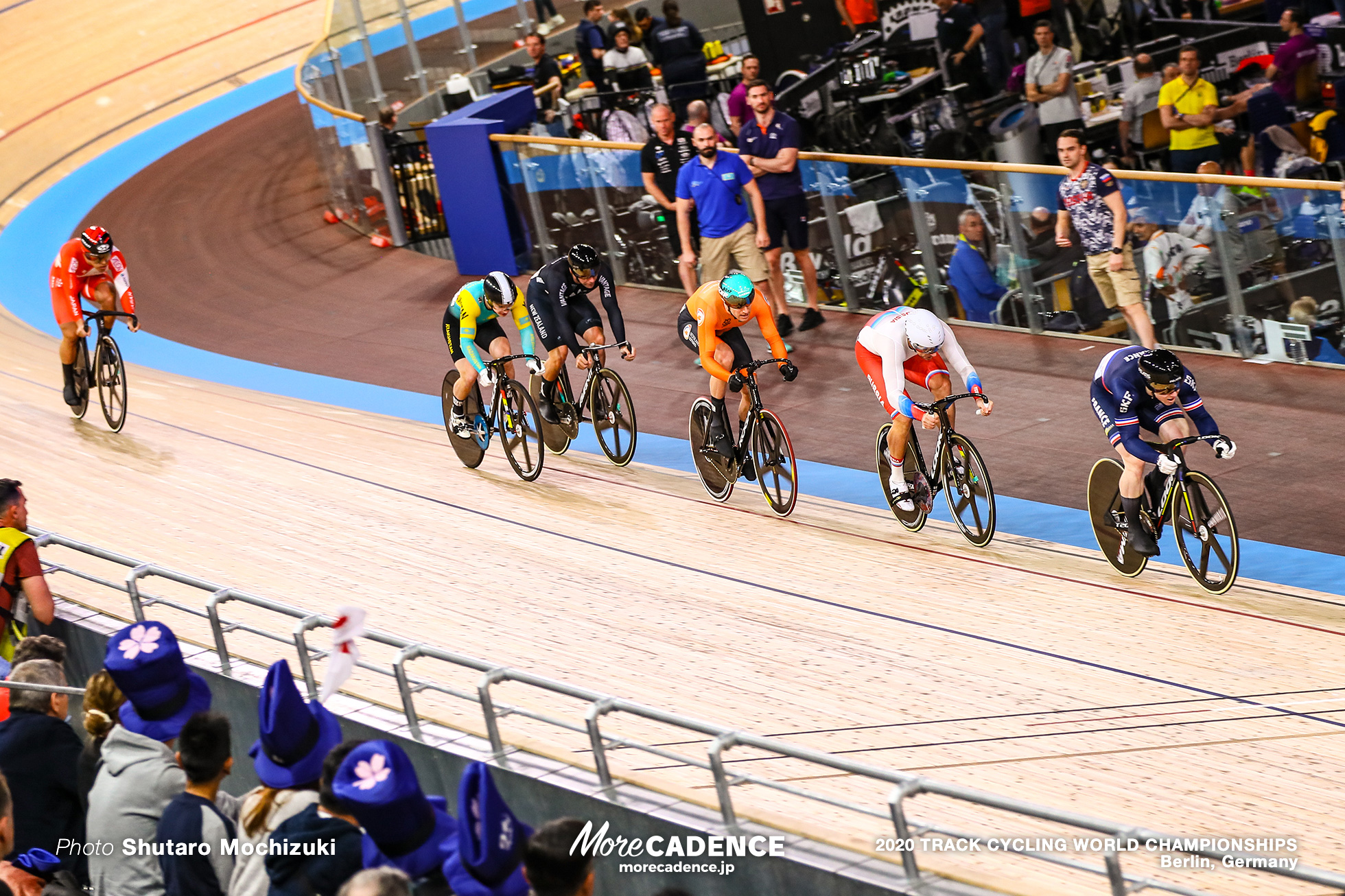 1st Round / Men's Keirin / 2020 Track Cycling World Championships