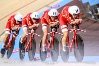 Final / Men's Team Pursuit / 2020 Track Cycling World Championships / Denmark デンマーク / lasse Norman Hansen ラッセ・ノーマン・ハンセン, Julius Johansen ジュリアス・ヨハンセン, Frederik Rodenberg Madsen フレデリック・マドセン, Rasmus Pedersen ラスムス・ペダーセン