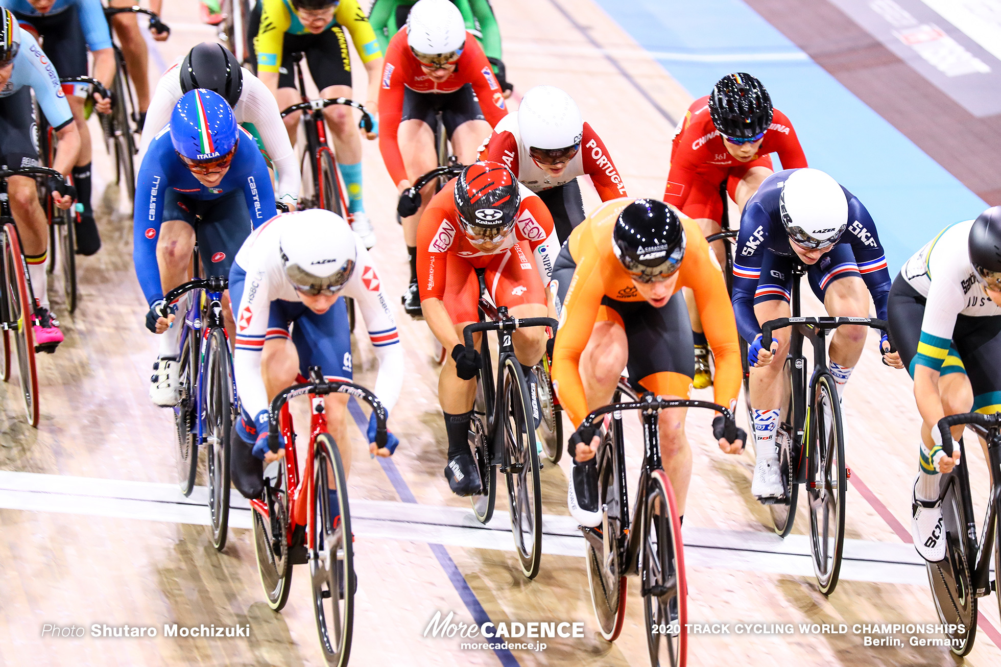 Scratch Race / Women's Omnium / 2020 Track Cycling World Championships, Kirsten Wild キルステン・ウィルト, Laura Kenny ローラ・ケニー, Kajihara Yumi 梶原悠未, Clara Copponi クララ・コッポーニ